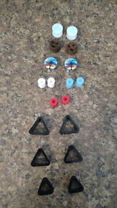 Ear spacers various sizes