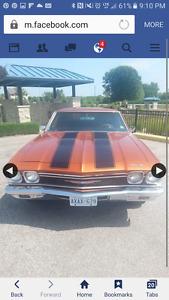68 Chevelle for sale