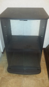 Apartment Size TV and stereo stand