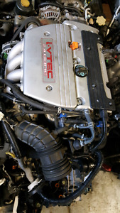 JDM TSX K24A engine imported from japan real 200hp iVtec