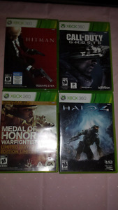 Xbox 360 games for sale(still available )
