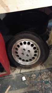 195 50r15 90% tread Pepper Pots Rims
