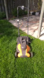 Electric lawn mower for sale!