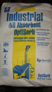 Oil Absorbant // Floor Dry -  7 bags
