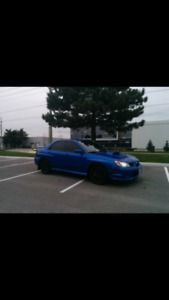 2007 Subaru WRX Sedan No rust, 163km low