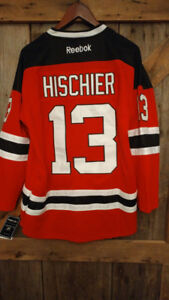 #1 DRAFT PICK IN THE NHL HISCHIER HOCKEY JERSEY