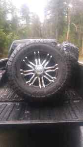 Tires and rims 35s on 18s