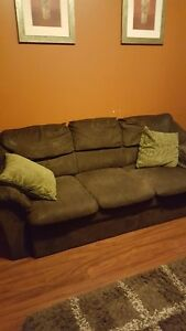 Micro suede sofa set Cambridge Kitchener Area image 2