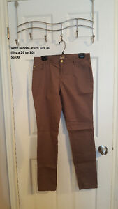 2 pairs of Only pants european size 40 (29 or 30 waist)