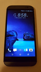 Unlocked HTC one M8,32GB,Work with freedommobile