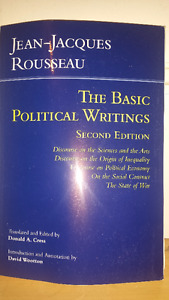 The Basic Political Writings of Jean-Jacques Rousseau