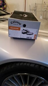 SIZE 8 - New leather Callaway Golf Shoes