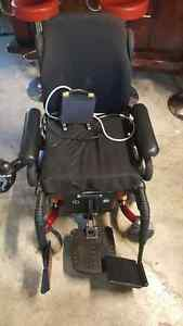 Electric power wheel chair.