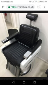 """Vintage Barber Chair """"Belmont 898"""" Brand New!!!! Over 70yrs old"""