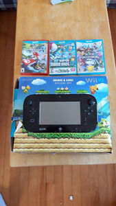 Wii U with Multiple Games