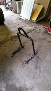 Rear motorcycle stand - make offer