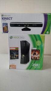 X Box 360 250go+Kinect