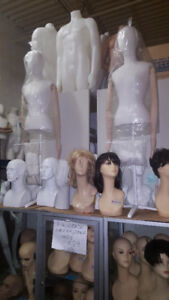 RECYCLEDDISPLAYS STORE FIXTURES MANNEQUINS USED