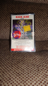 SEALED CASSETTE TAPE KICK AXE VICES 1984 CBS CANADA / PASHA