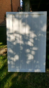 Vinyl gate/fence sections