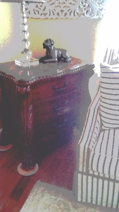 Marble Top Chest; Cabinet; Credenza; End Table; 3 drawer dresser