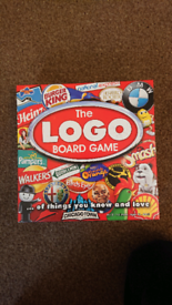 Logo board game nearly brand new
