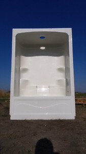Bath with Shower (Nerver Used)
