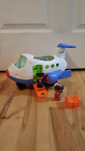 Little People Lil Movers Musical Airplane