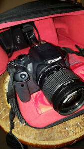 Canon Rebel t4i kit with 2 lenses and case