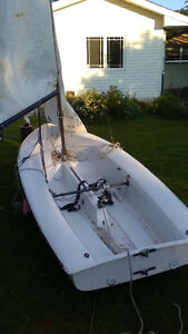 420 Sailboat for sale ort trade for acceptable 14 -16 alum boat