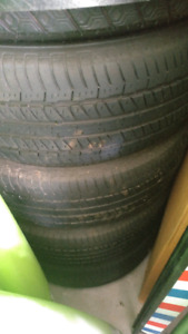 4 all-season tires with rims. 215/60/16