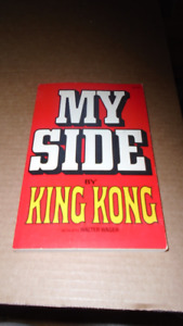 Vintage soft covered comedy Book - My Side by King Kong
