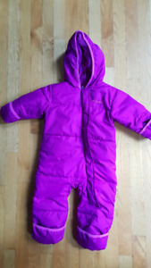 Columbia Snuggly Bunny Bunting snow suit