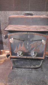 Wood Burning Steel Stove