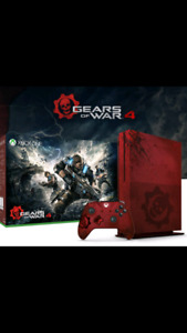 Gears of war 4 xbox one S limited edition 2tb with kinect