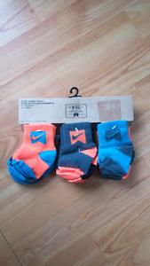 Nike baby socks new in package