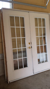 Exterior french doors for 2 x4  walls or extended 2x6