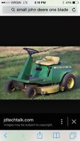 John deere lawnmower 8hp