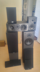Home theater speaker package.