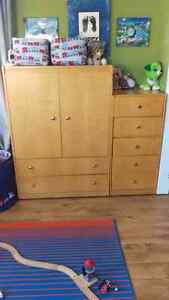 Selling Matching Armoire and Dresser