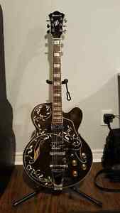 Ibanez Artcore AF95PV Vine Inlay Hollowbody with Case