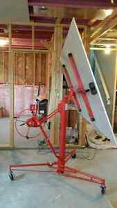 (New terms) Drywall lift for rent in Stonebridge area.