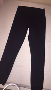 Black lululemon leggings(size 10)