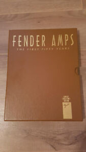 fender amps the first 50 years collector's edition