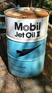 """Mobil Jet Oil II Drum """"HFX Hoarders and Collectors"""""""
