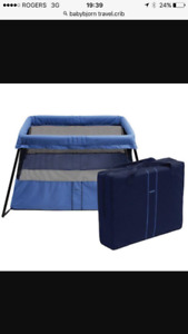 Baby Bjorn Travel Crib 2. Immaculate condition. Harvest Hi