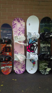 Snowboards - 11 to choose from