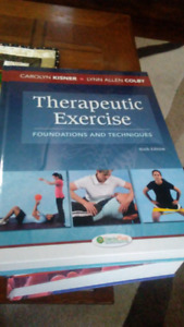 Therapeutic exercise 6th addition textbook