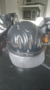 Used riding helmets