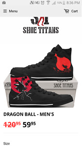 Soulier Dragon Ball taille 11